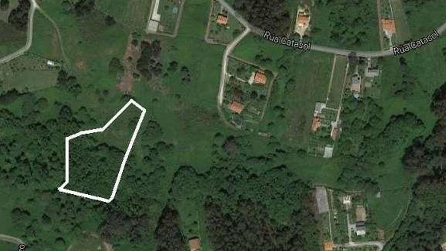 Los terrenos donados por Esther Pita a Oleiros están valorados en 31.000 euros
