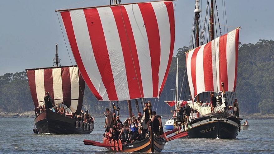 Seis barcos para conquistar el Ulla