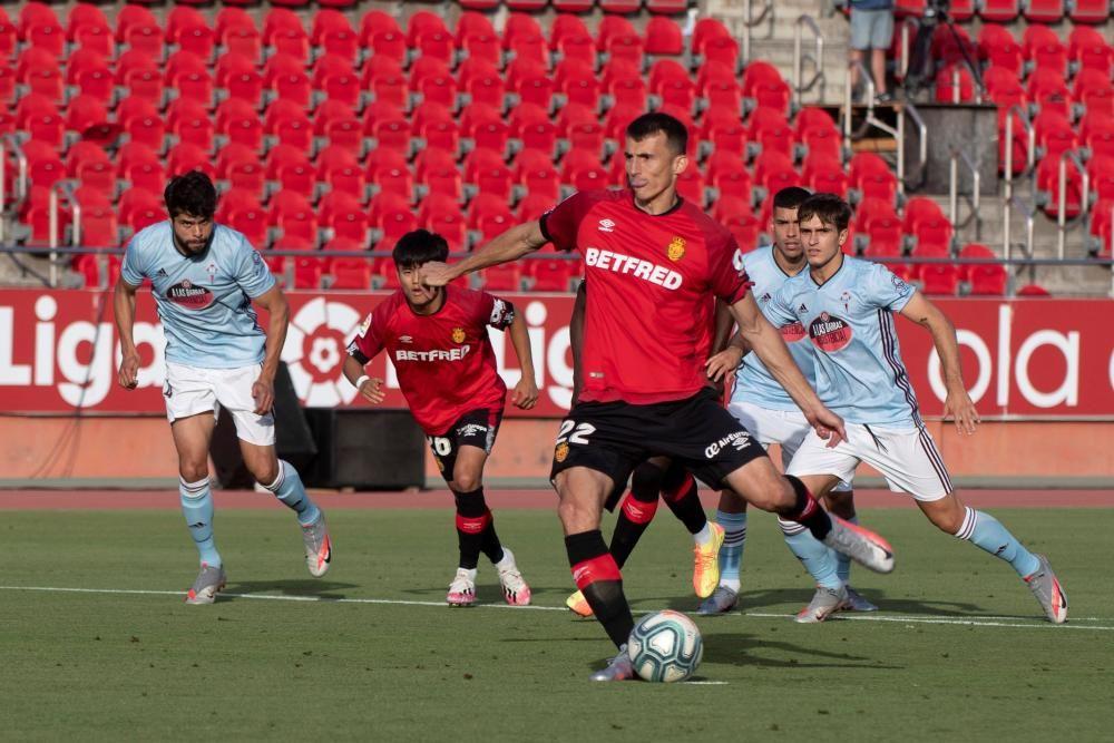 Mallorca - Celta: El Mallorca golea al Celta y se permite soñar