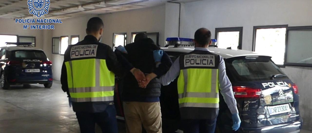 El detenido en Crevillent por el intento de asesinato en Orihuela.