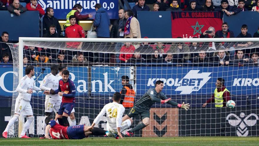 Las mejores imágenes del Osasuna - Real Madrid