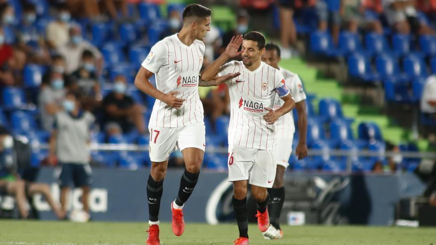 El Sevilla toma el mando de LaLiga mientras Real Madrid y Barça se dejan los primeros puntos