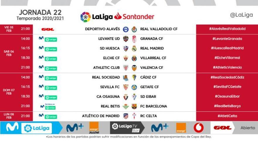 El Elche recibirá el Villarreal el sábado 6 de febrero, a las seis y media de la tarde