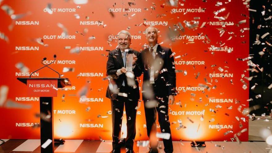 Olot Motor rep el 12è premi al millor concessionari Nissan d'Espanya