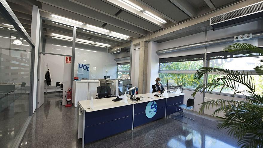Manresa perdrà la seu de la UOC el gener i l'atenció als estudiants es farà a Barcelona