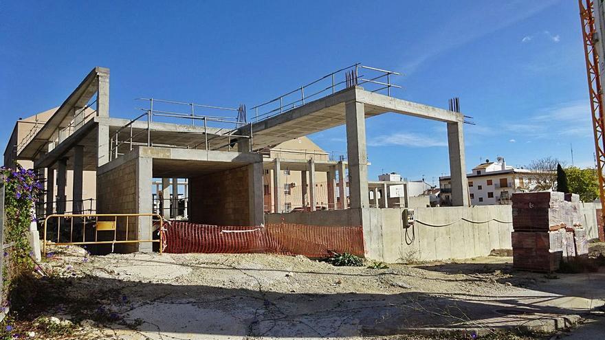 Las obras del nuevo auditorio de Xàbia cumplen 300 días paradas
