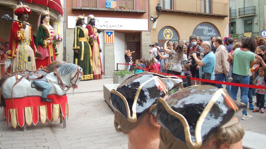 Berga celebra un Corpus sense Patum