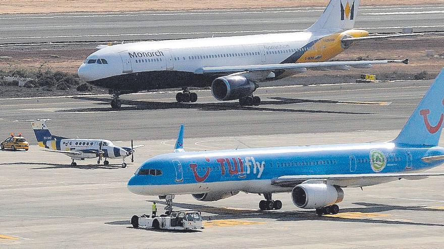 Canarias contrata desde hace 18 años  aviones medicalizados obsoletos