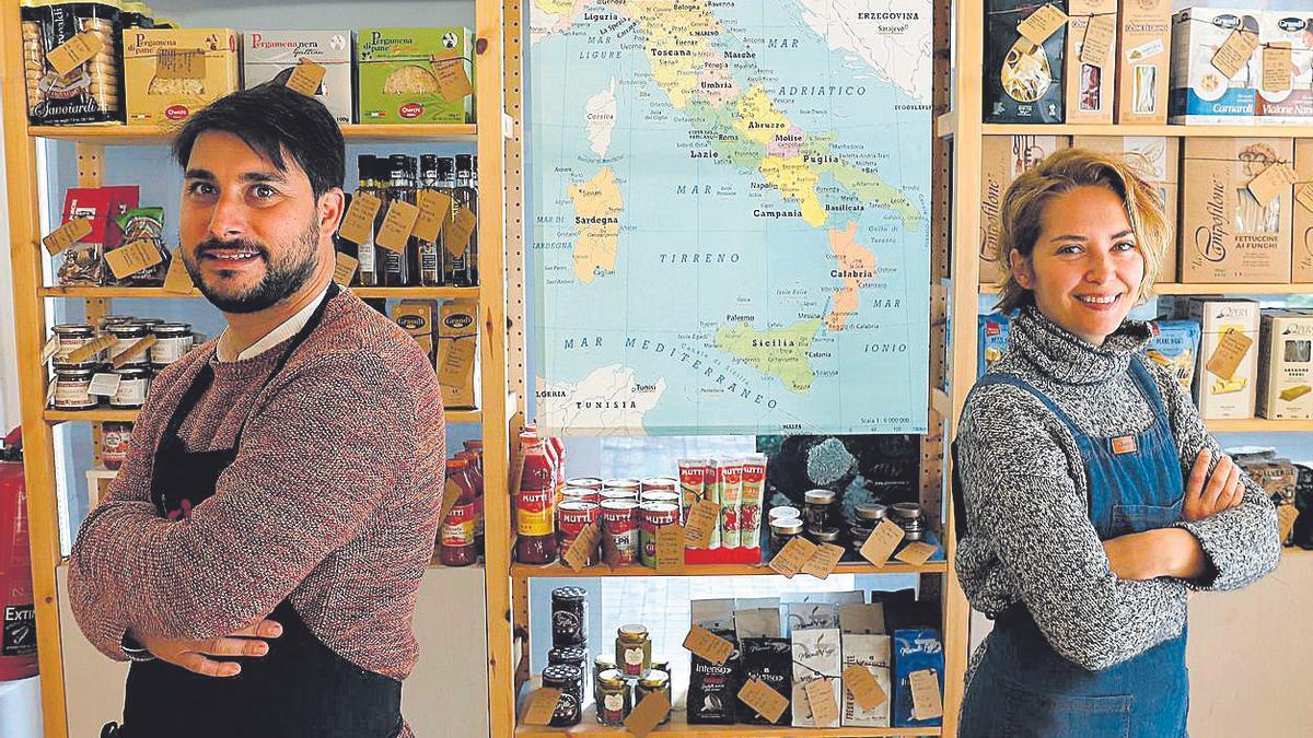 La Dispensa italiana ofrece una selección de productos del país transalpino.