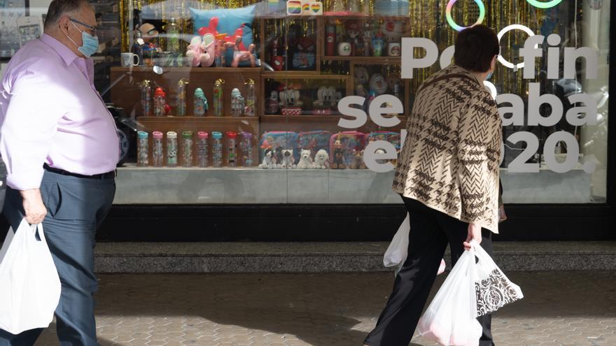 Las ventas del comercio minorista se disparan en abril en Castilla y León