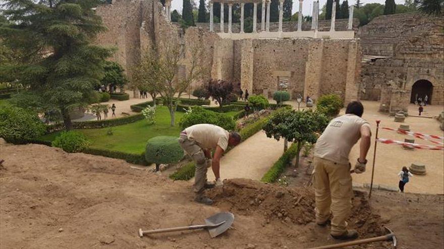 El peristilo del Teatro Romano de Mérida tendrá una nueva adecuación museográfica