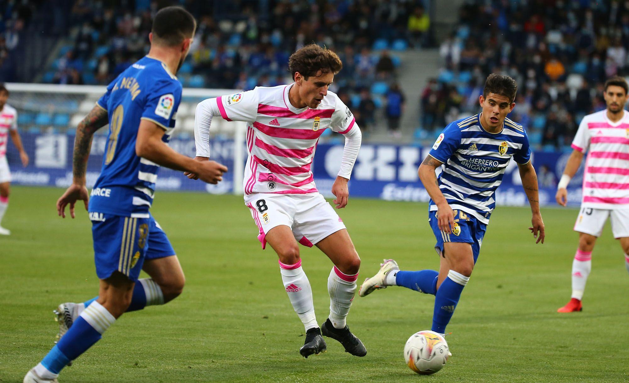 Las imágenes del partido del Oviedo
