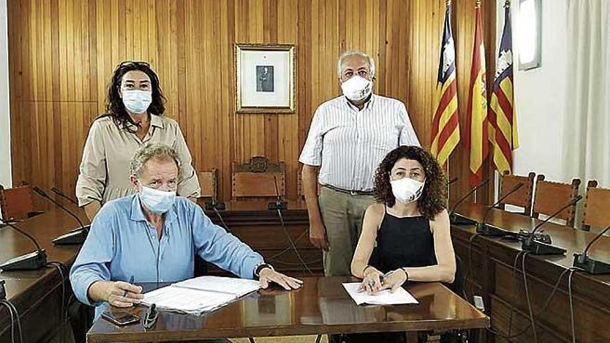 Acuerdo municipal para reformar la calle Sol Naixent de Cala Millor