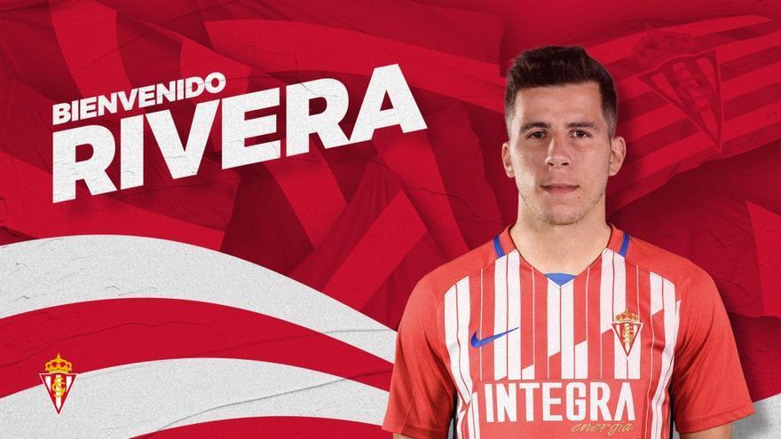 Christian Rivera, nuevo jugador del Sporting