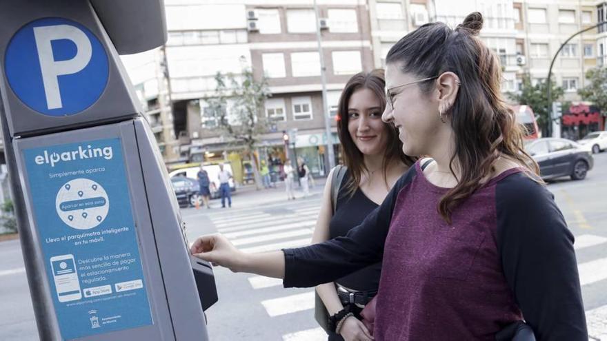 El estacionamiento de la ORA en Murcia cambia de app