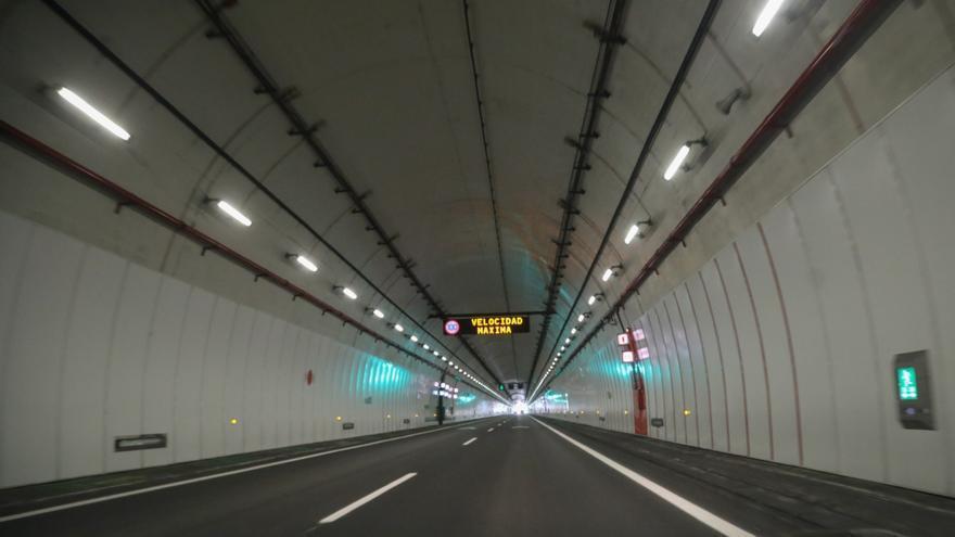 Reabre el túnel de O Folgoso después de tres meses cerrado y un arreglo de 2,4 millones
