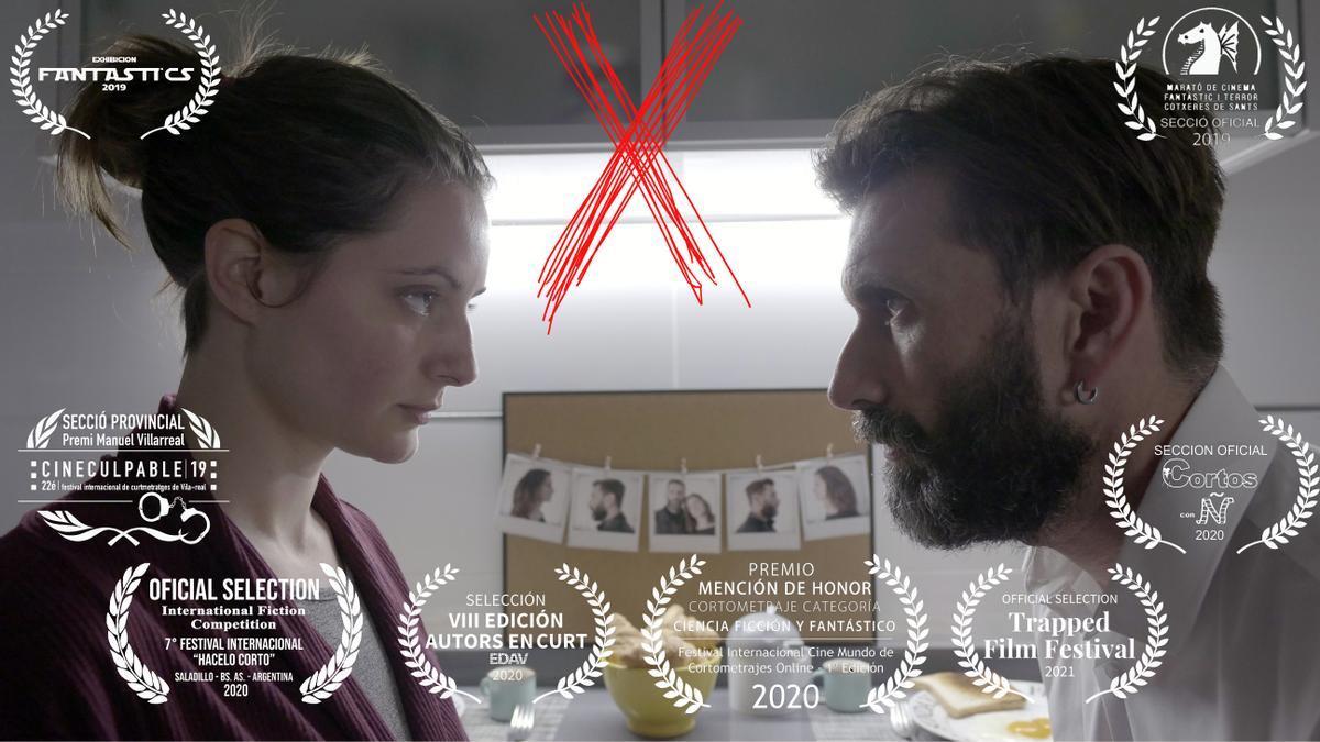 El corto 'X' tiene dos años de recorrido, pero ha sido en este 2021 cuando ha obtenido su mayor reconocimiento