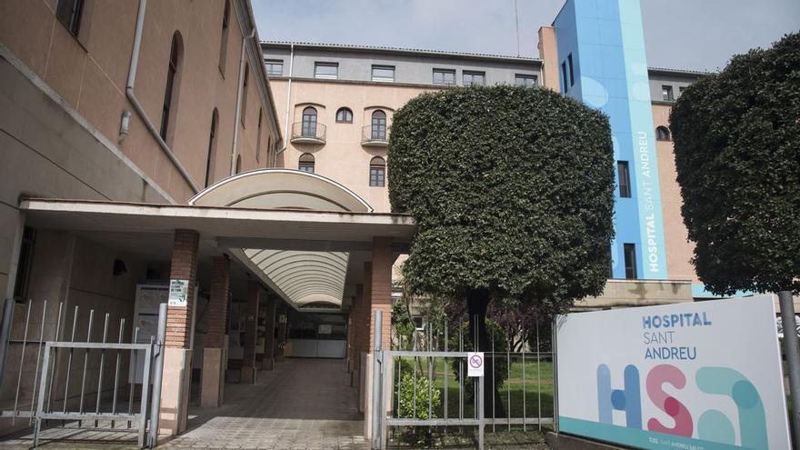 Cap ingressat a l'Hospital Sant Andreu de Manresa per primer cop des del 13 de juliol