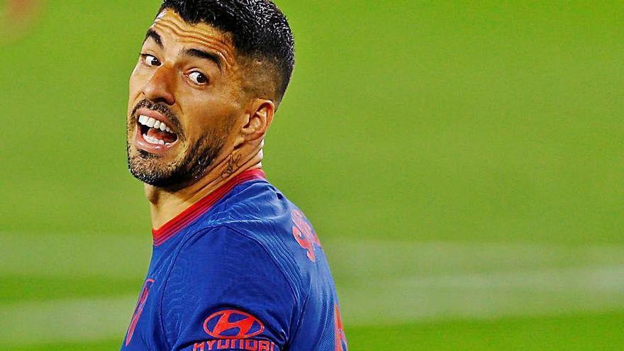 L'Atlètic perd el gol de Suárez per jugar al Villamarín