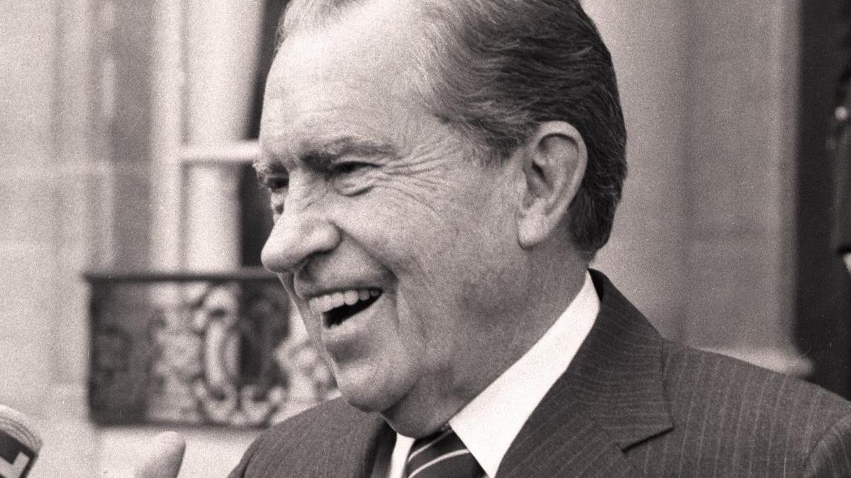 El expresidente estadounidense Richard Nixon.