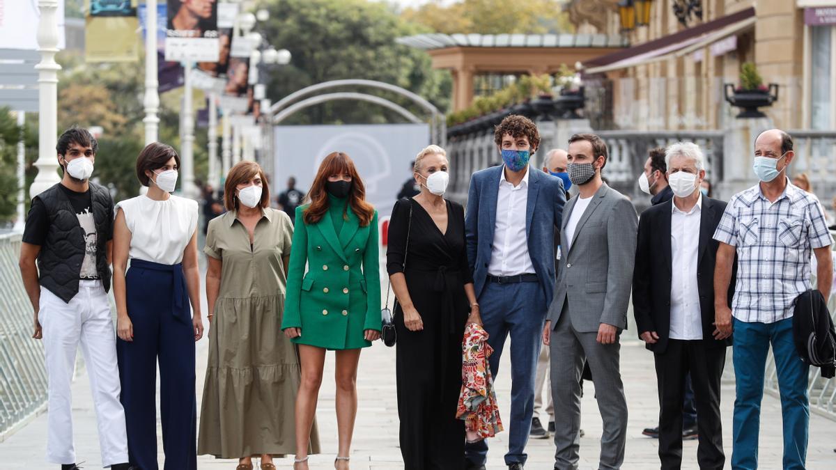Carles Francino y la serie 'Patria', premios Liber 2021.
