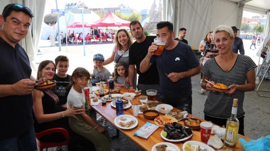 La Festa do Marisco encara su primer fin de semana