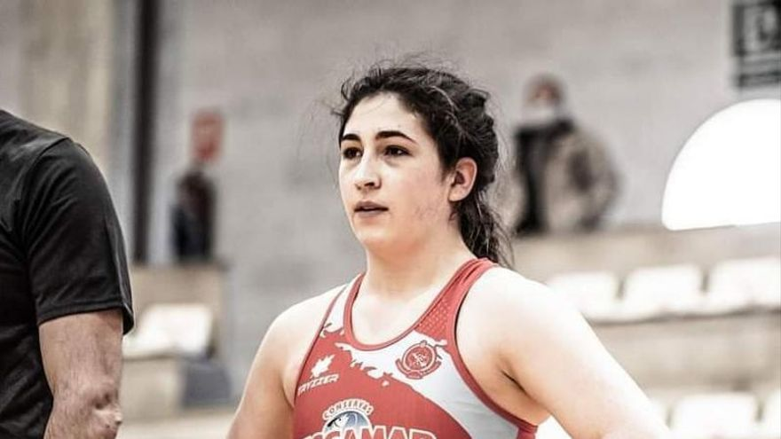 Nerea Pampín, en el Europeo Sub 23 de Macedonia