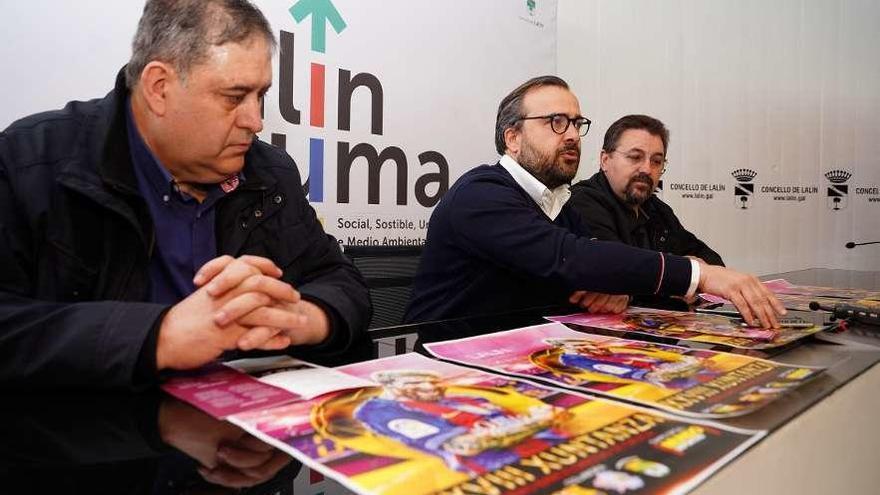 Más de 400 peñistas participan en Lalín en la reunión regional de barcelonistas