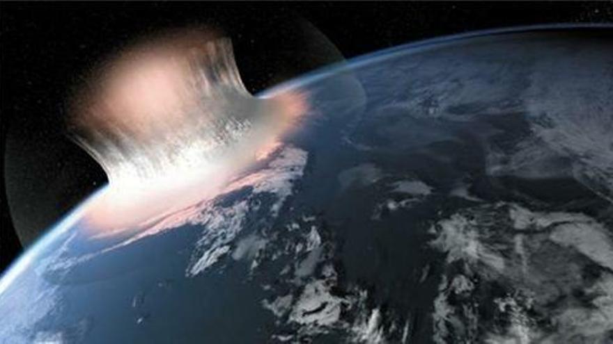 Los impactos de asteroides crearon los ingredientes de la vida en la Tierra y Marte
