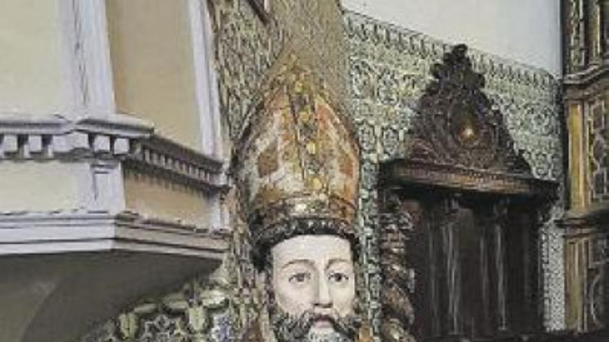 Los villanovanos celebran a su patrón San Blas con una ceremonia libre de covid