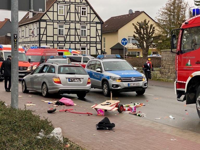 Decenas de heridos en un atropello en una fiesta de carnaval en Alemania