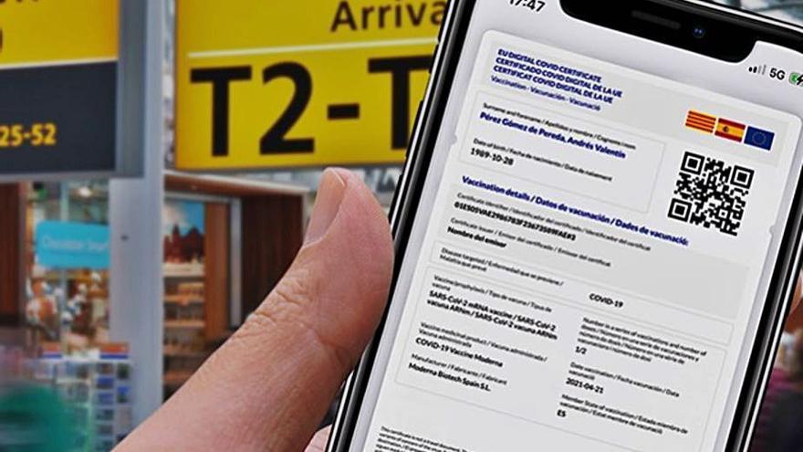 Deneguen el certificat per viatjar malgrat haver passat el virus els últims sis mesos