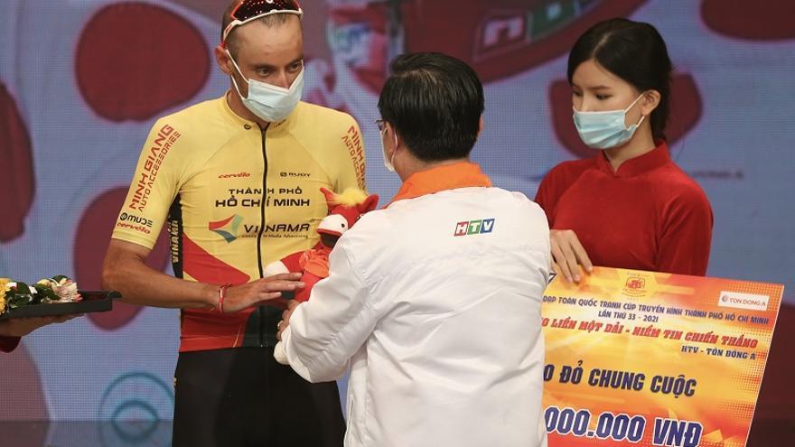 El zamorano Javier Sardá se queda a un paso de la victoria en la Vuelta a Vietmam