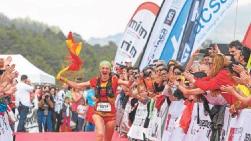 La castellonense Laia Cañes gana la plata en el Mundial de trail de Penyagolosa