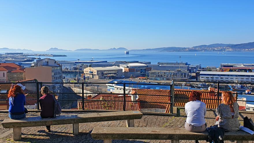 Galicia, del bajo cero a una temperatura primaveral en menos de ocho horas