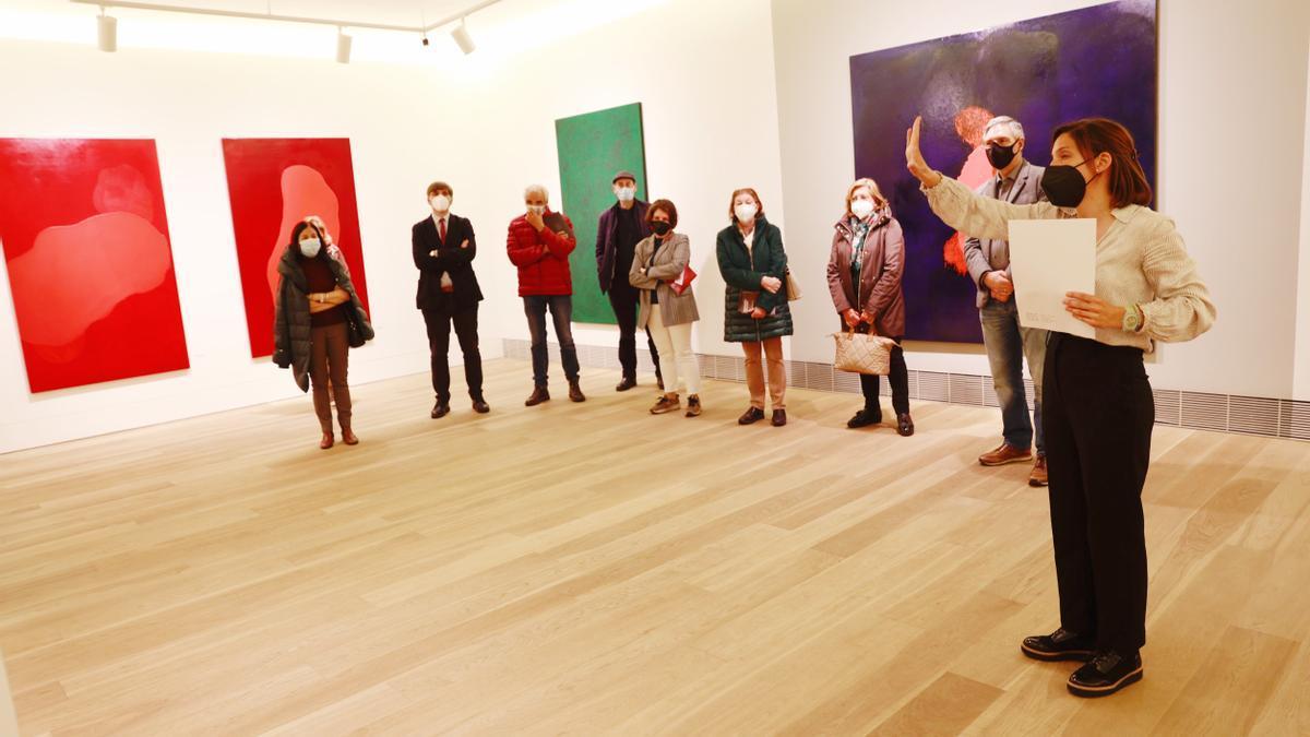 Visita guiada a la exposición de Bernardo Sanjurjo en el Bellas Artes de Asturias