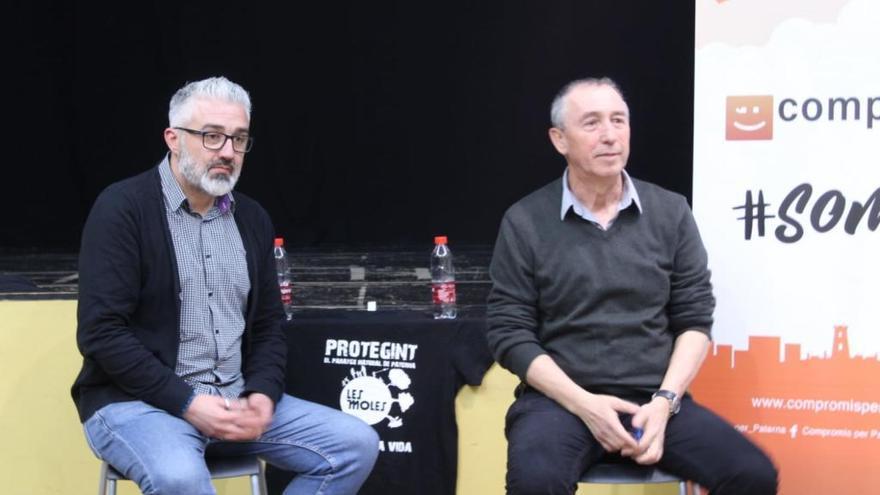Baldoví explica en Paterna los acuerdos de investidura