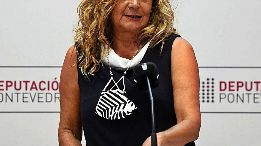 """Carmela Silva: """"Es una grandísima noticia para este concello y para toda la provincia de Pontevedra"""""""