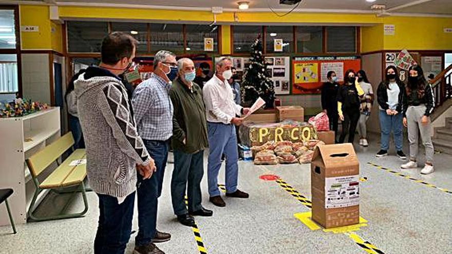 600 kilos solidarios del IES Cruce de Arinaga