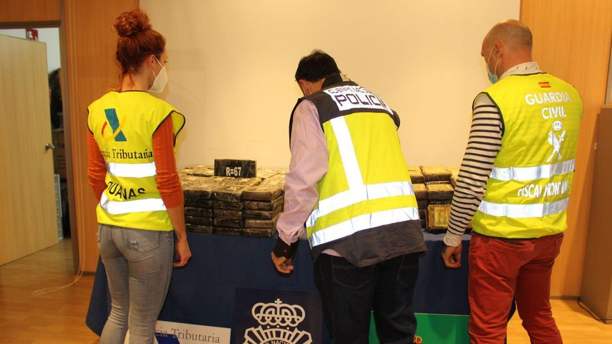 Incautan 200 kilos de cocaína en el Puerto de València
