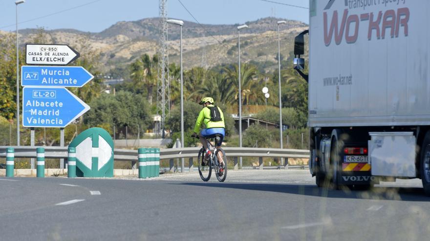 ¿Sabes dónde van a eliminar un punto negro para los ciclistas en Elche?