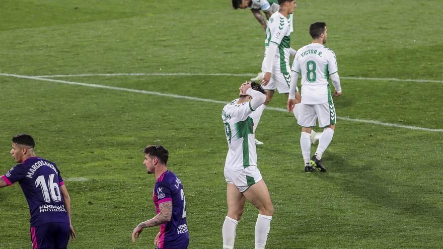 El Elche vuelve a los entrenamientos tras la decepción del empate con el Valladolid