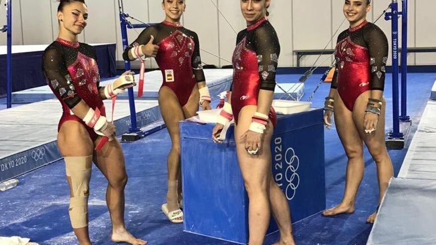 Roxana Popa, a la final individual; el equipo español, duodécimo por países
