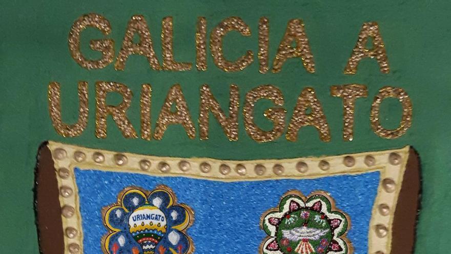 Bueu, Cangas y Moaña participan en una alfombra floral virtual para México