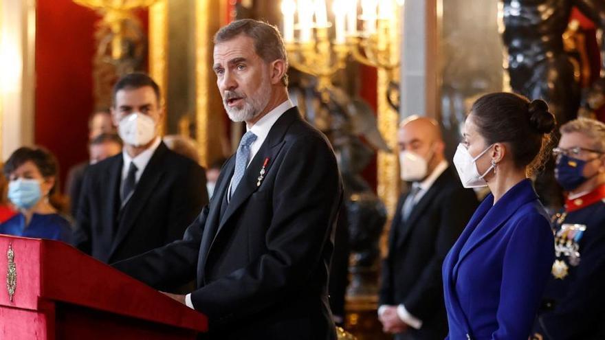 """El Rey respalda el acceso """"equitativo"""" y dirigido por la UE a las vacunas"""