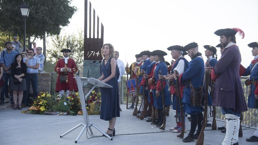 Talamanca commemorarà dijous la batalla del 1714 en petit comitè