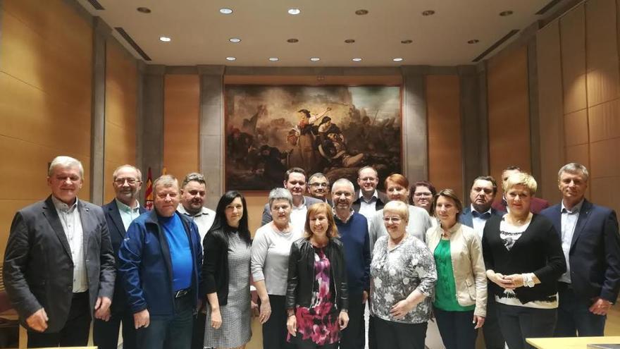 Alcaldes polonesos visiten la Diputació per veure com funcionen els ajuntaments