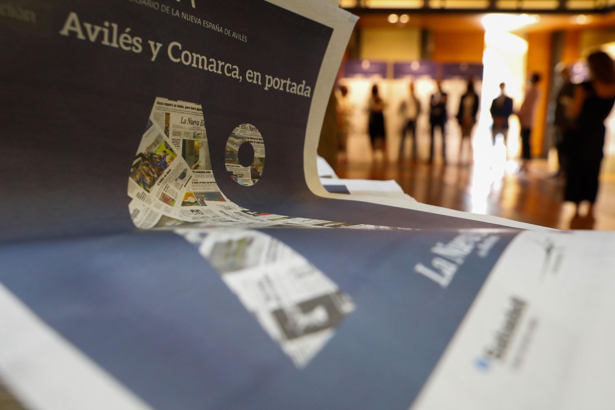Exposición 30.º aniversario LA NUEVA ESPAÑA de Avilés y Comarca