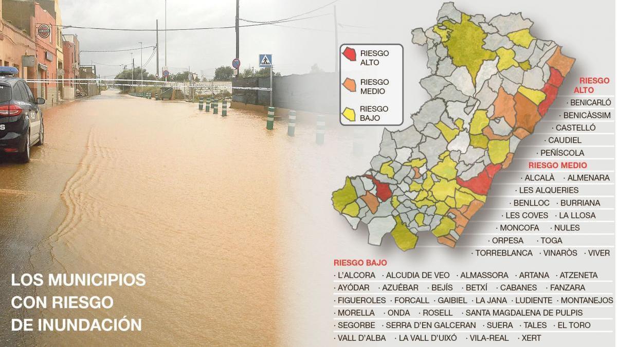 Solo siete de los 19 municipios con riesgo tienen su plan anti inundación