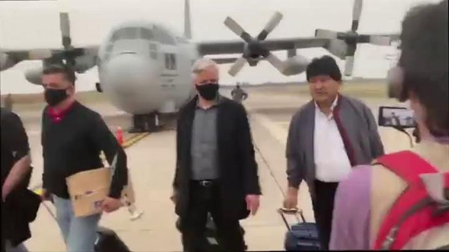 Evo Morales vuelve a Bolivia tras la victoria de Arce